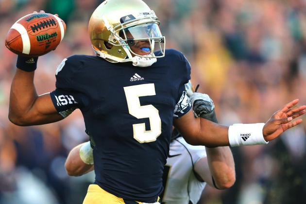 Alabama vs. Notre Dame: Can Everett Golson and the Irish Pass Against the Tide?