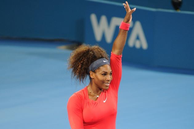 Serena Williams Wins Brisbane Title, Murray Reaches Final