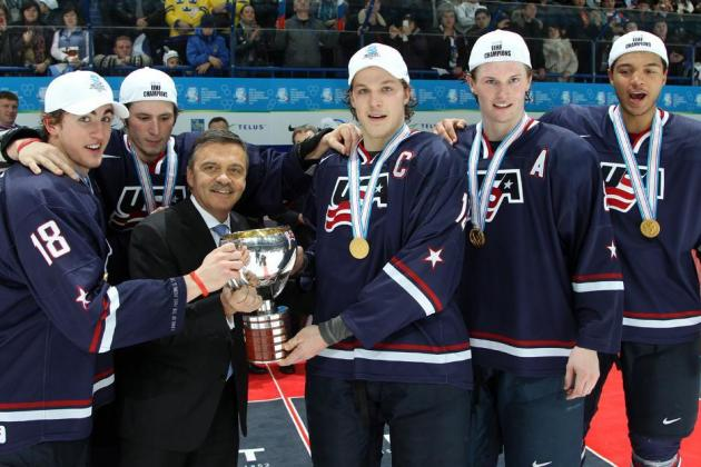 Team USA Wins Gold at 2013 IIHF World Junior Championships