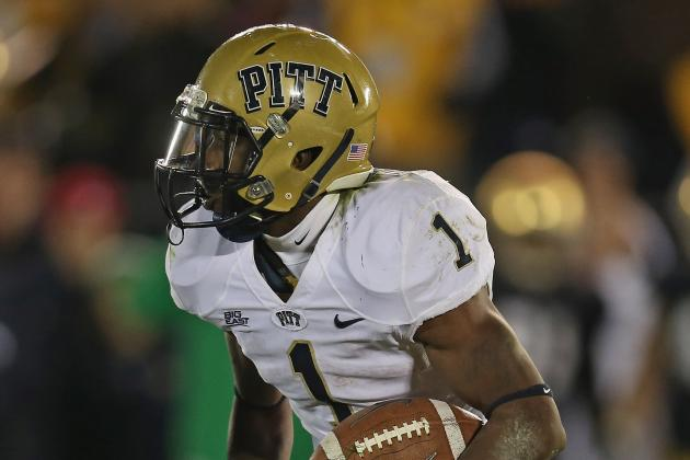 Pitt's Leading Rusher out for Today's Bowl Game
