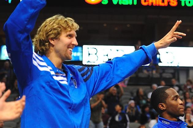 Dirk Nowitzki Will Make First Start of the Season Against New Orleans Hornets