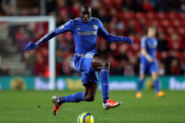 Chelsea's Demba Ba Scores Two on His Debut in Rout at Southampton