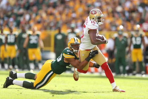 49ers Playing Odds, Warming Up for Packers