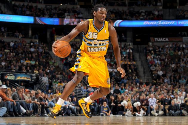 Kenneth Faried Ill, Game-Time Decision for Nuggets Against Jazz