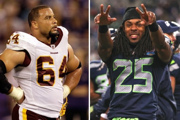 Skins DT on Sherman: 'He's a Cheater'