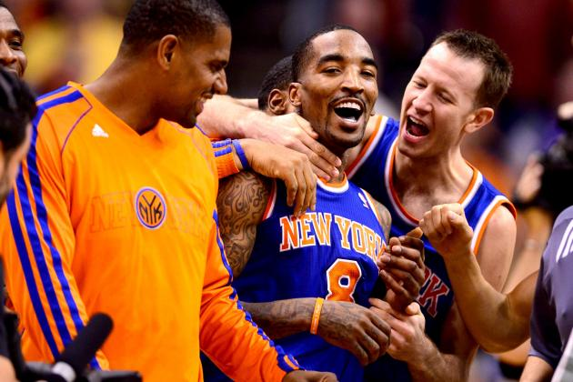 J.R. Smith's All-Star Play Making Him Knicks' Co-MVP