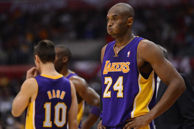 Los Angeles Lakers Are Pushing Kobe Bryant Toward the Boiling Point