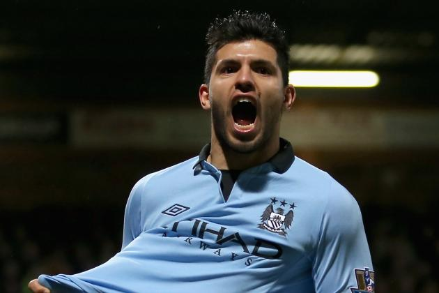 That's Torn It! Aguero Goes to Italy for Treatment on Hamstring Tear