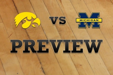 Iowa vs. Michigan: Full Game Preview