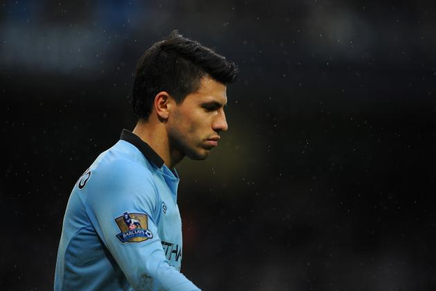 Sergio Aguero Injury: Updates on Manchester City Striker's Hamstring