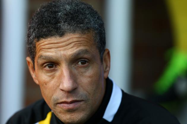 Chris Hughton Pleased with Professional Norwich Display in FA Cup Win