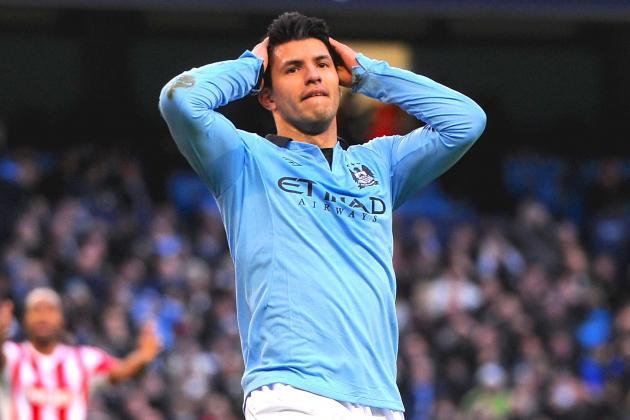 Sergio Aguero Injury: Updates on Manchester City Striker's Hamstring