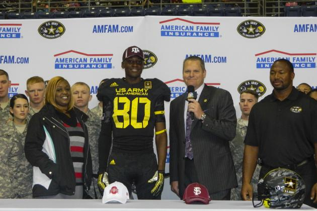 Texas A&M Football: Tony Stevens Talks Commitment to Aggies