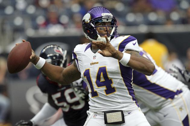 Joe Webb Starting for Vikings vs. Green Bay Packers in Wild Card Game
