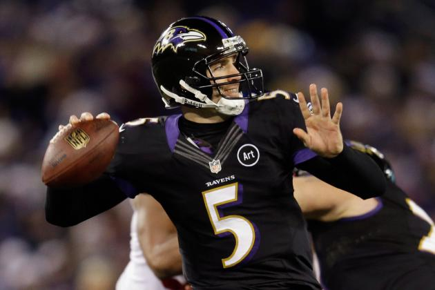 Colts vs. Ravens: Lewis and Flacco Will Spur Baltimore into Second Round
