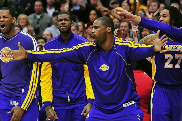 Antawn Jamison Says Lakers Have Been Playing Mediocre Basketball