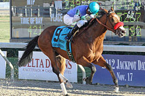 Sham Stakes: Goldencents Shows He Can Rate After Convincing Win