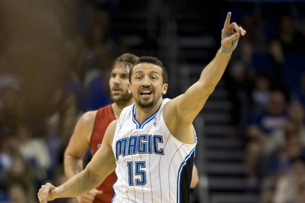 Hedo Turkoglu Hampered by His Left Hand and Conditioning