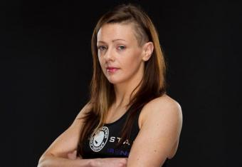 Winner: Joanne Calderwood (Photo Credit: Invicta FC)