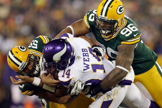 Vikings vs. Packers: Lights Too Bright on Big Stage for Webb and the Vikings