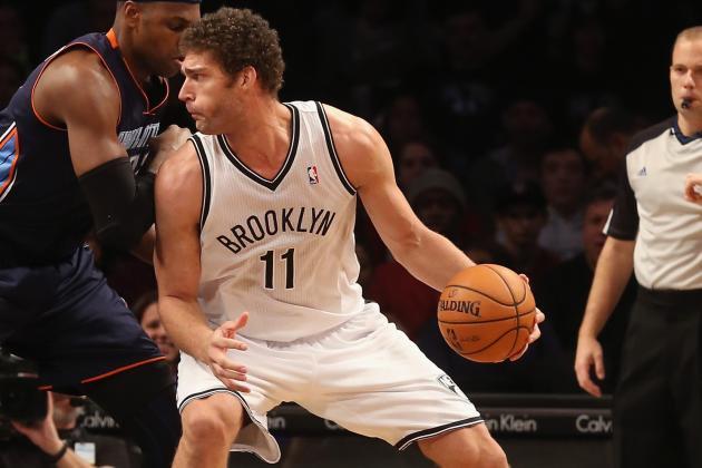 Nets Win Their Third Straight Behind Brook Lopez's Efficient Game