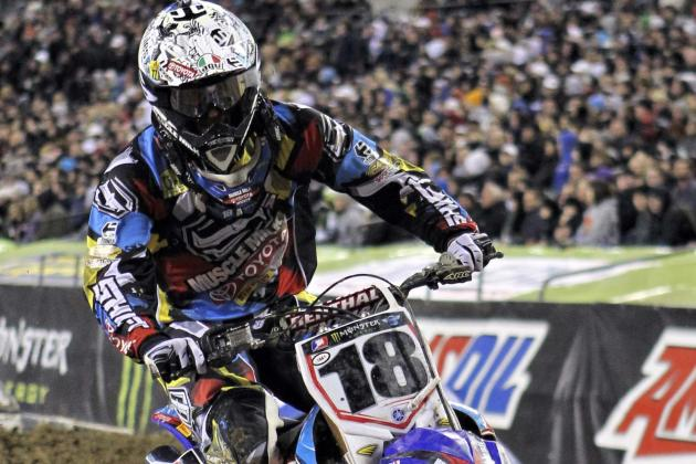 Davi Millsaps Scores Suprising Victory in Supercross Season Opener in Anaheim