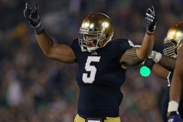 Manti Te'o: Breaking Down How National Championship Game Will Affect Draft Stock