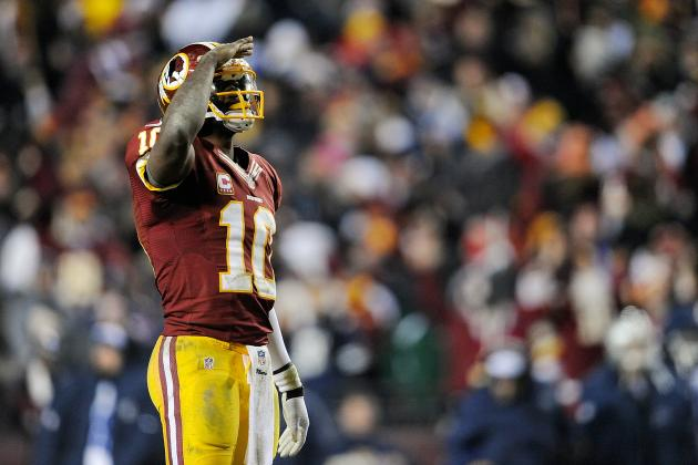 Robert Griffin III: Redskins QB's Limited Mobility Will Cost Team vs. Seahawks