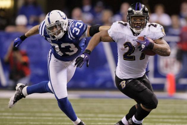 Baltimore Ravens' Ray Rice to Run Against Indianapolis Colts