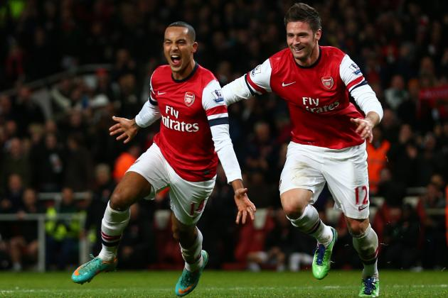 Theo Walcott: Arsenal Star Is Getting Closer to Being the Striker He Wants to Be