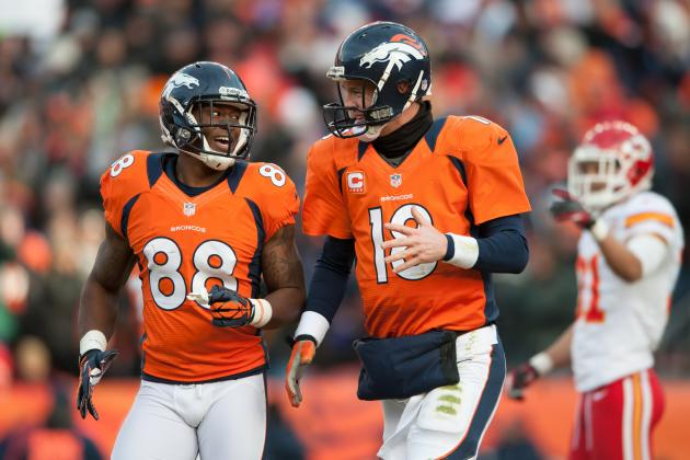 Examining Peyton Manning's and the Denver Broncos' Aerial Success This Season