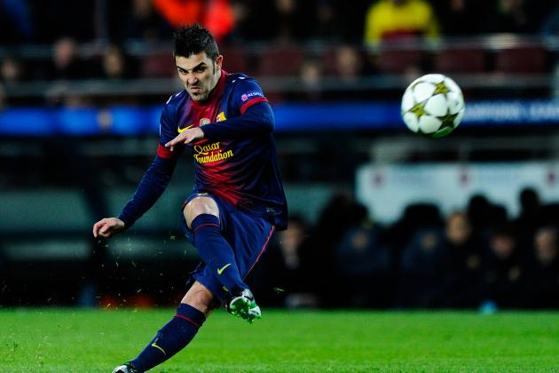 David Villa: Barcelona Striker Would Be Perfect Addition for Arsenal Attack