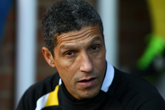 Norwich City: Possible January Transfer Targets for Chris Hughton