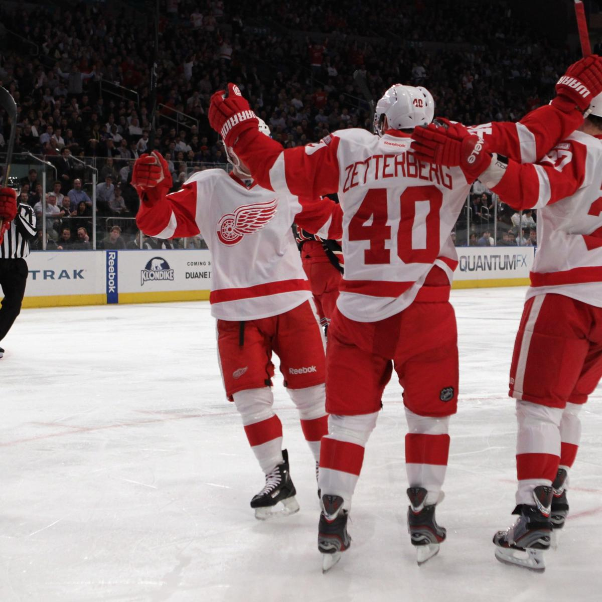 2012 2013 Season Opens With Sleeping: Detroit Red Wings Roster: A Look At Their Depth Chart For