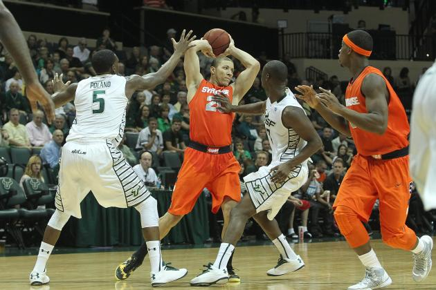 Syracuse Basketball Holds off South Florida for 55-44 Victory