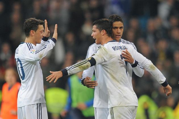 Real Madrid 4-3 Sociedad: Ronaldo brace
