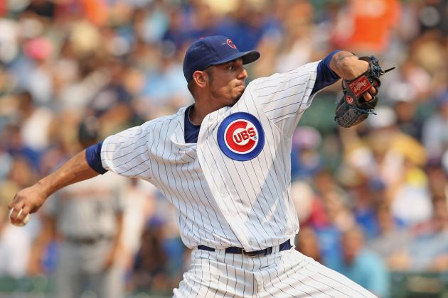 Cubs Might Shop Starter Matt Garza During Spring Training