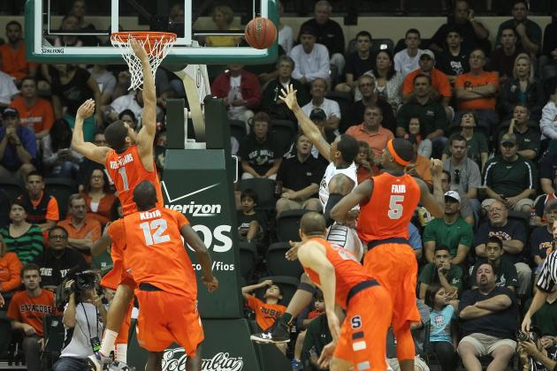 Syracuse Gets on the Glass, Compensates for Shaky Shooting