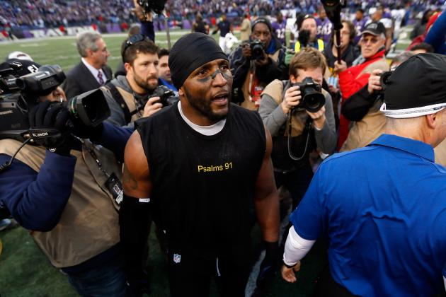 Ray Lewis, Baltimore Ravens, Move on in Beating Colts