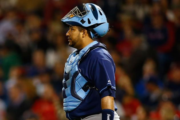 Jose Molina Expected to Be Rays' Primary Catcher Again