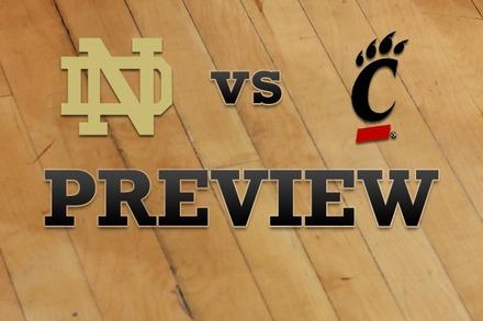 Notre Dame vs. Cincinnati: Full Game Preview