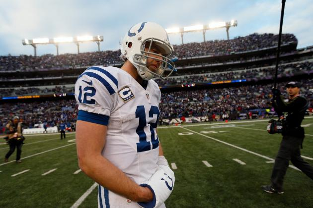 Manning vs. Luck: Compare the QBs' Stats in Their First Playoff Games