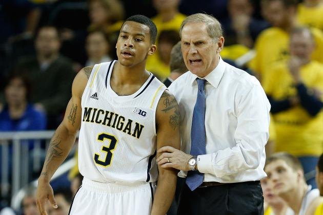 Burke, No. 2 Michigan Trample Iowa
