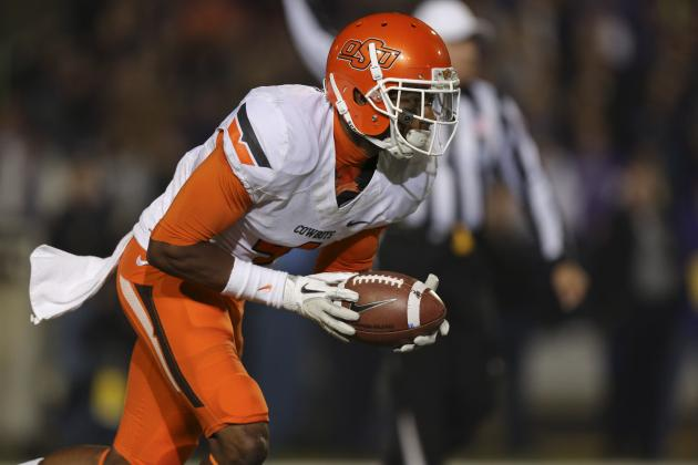 Oklahoma State Football: Justin Gilbert Returning for Senior Season
