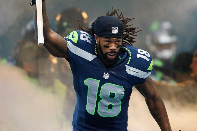 Watch Sidney Rice's Amazing Sideline Grab in Wild Card Game vs Redskins