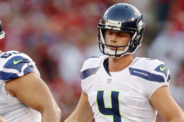 Seahawks' Steven Hauschka Injures Ankle
