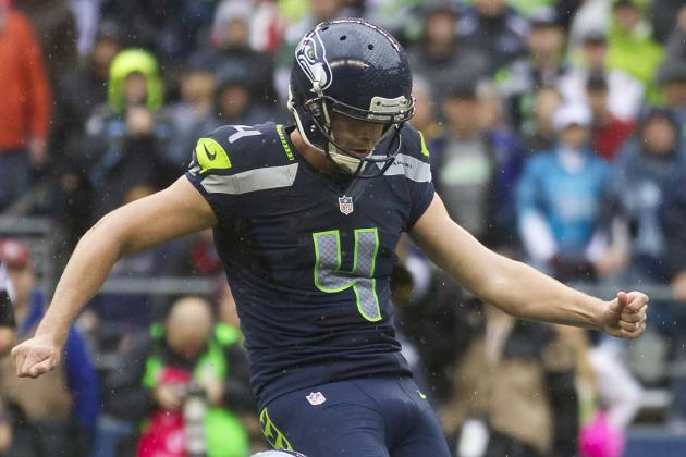 Steven Hauschka Returns Despite Ankle Injury
