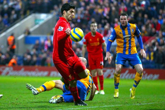 Mansfield vs. Liverpool: Officials Miss Call, Luis Suarez Gets Blame