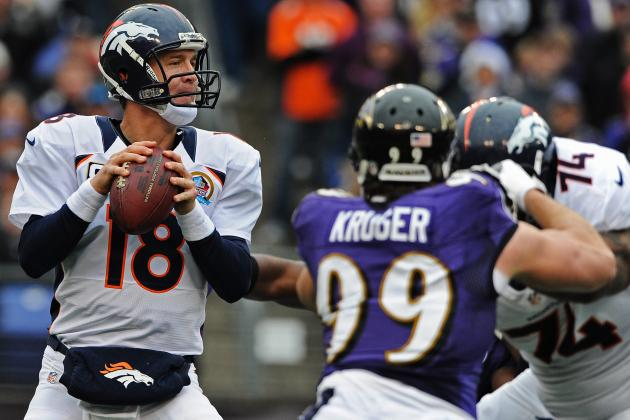 NFL Playoff Schedule 2013: Dates and TV Info for Divisional Round Weekend