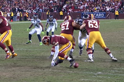 RGIII's Knee Bends Wrong Way